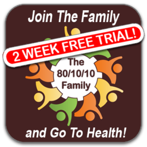 The 80/10/10 Family Membership – Regular